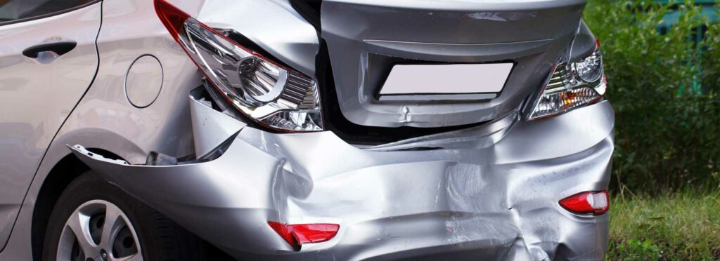 Who is at fault in a rear-end collision