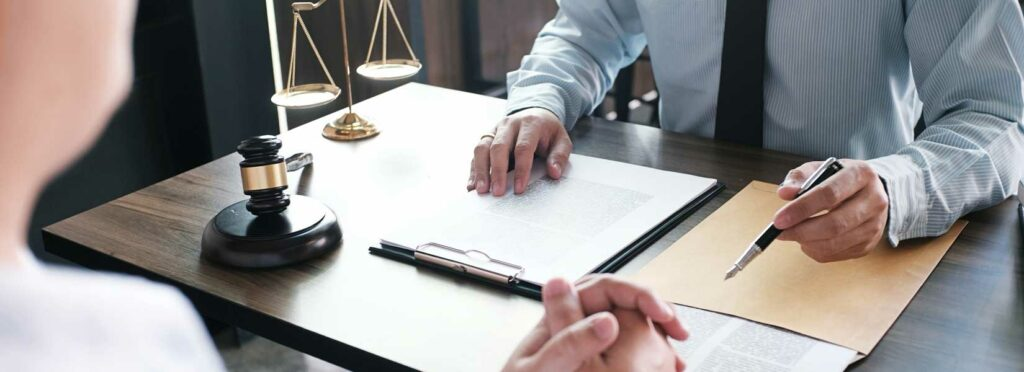 Lawyer helping client after the other driver filed a counter-claim