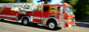 Tractor Trailer Driver Dead After Crashing into Fire Truck in Douglas County