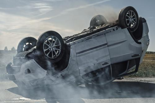 Certain vehicles are more prone to rolover accidents.