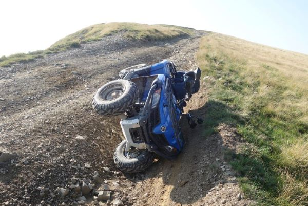 Concept photo of fatal ATV accident in Sanford